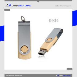 Bulk wood usb flash drive 8GB