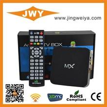 Cool Dual Core Amlogic MX Android TV Box Flash Bluetooth MX Smart TV Full HD 1080P Porn Video Android TV Box