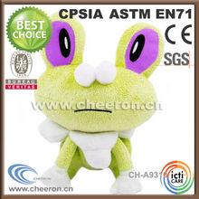 Assortment of creative stuffed frog animal gifts