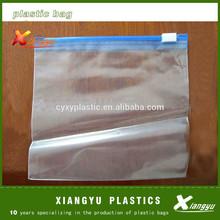 Zip lock document bag plastic material