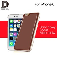 Solid color 013 gel case epoxy skin for iphone 6