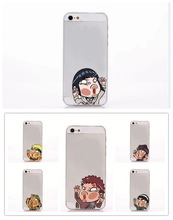For iPhone 6 plus case Ultra thin Cartoon characters Hit glass TPU Back Case Cover For iPhone 6 5.5 Mobile Phone case