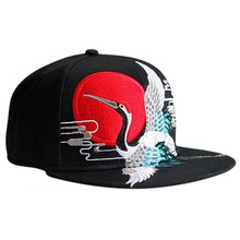 2015 Good quality custom hawaii floral printing snapback cap hat