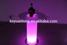Las mesas laterales conjuntos/led de barras portátil/de piedra en forma de las luces