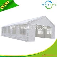 2015 best sell 5X10m PE pergola carport pvc tarpaulin carport