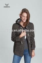 Hot sale ladies winter coat, Fashion women jacket coat Hooded jacket