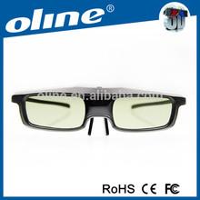 BT Active Shutter 3D Glasses for BT 3D TV of Samsung/Panasonnic/Epson RF Projector