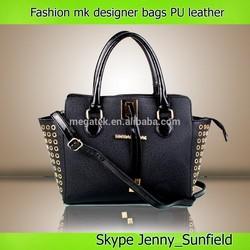 Western style Fashion rivet pu leather handbag wholesale mk handbags women