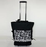 2015 new wheeled market shopping trolley bag,large handbag