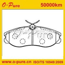 auto brake pad for MAVERICK (UDS and UNS) 2.4 i KA24E Closed Off -Road Vehicle 0 986 424 204