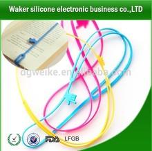 Fácil encontrar o página do livro silicone bookmark