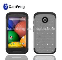 Crystal Rhinestone Mobile Phone Cover For Motorola Moto E/XT1021/XT1024