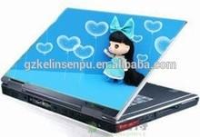 "Hot sale anti-reflection back full Laptop skins 14.6"""