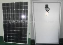 tempered glass lamination mono crystalline solar panel 36V/270W 280W