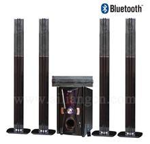 Cheap 5.1 speaker 8 INCH home music sound system wooden speaker box