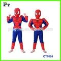 Caliente venta del hombre araña ropa