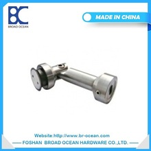 stainless steel handrail glass clip glass holding clips