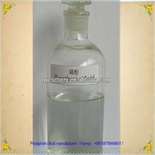 2012 hot sales phosphoric acid food grade 85%