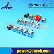 Self lock metal 250v Push Button Switch