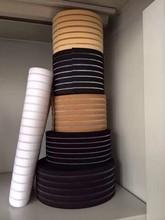 All colors Cotton Wide elastic Jacquard ribbon Band webbing