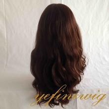 Wholesale Silk Skin Full Body Wave Heavy Denisty Virgin Brazilian Wigs Jewish