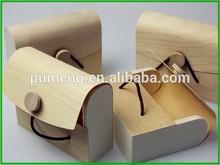 Birch Wood Gift Box for Money Case