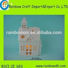 high quality,cheap ceramic halloween led house