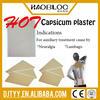 Capsaicin Hot Patch/ Capsicum Plaster/ Pain Relief Hot Patch