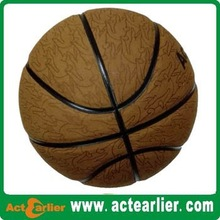 official size genuine leather basketball for match