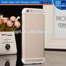 Simple Design Dual color For iPhone 6 Case Transparent