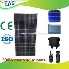 High quality 300W mono mini solar panel with cheap price