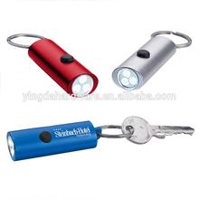 Protable 3LED Keyring Flashlight Mini Flashlight