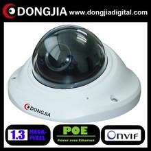 DONGJIA DA-IP6134HD-POE vandal-proof indoor dome 960p 1.3mp network poe ip camera vandal