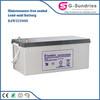 Renewable energy equipment vehicle battery