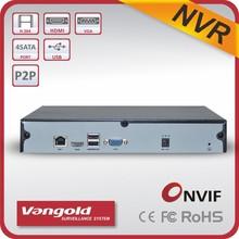 9CH NVR 960P, 720P, 4CH 1080P Support P2P Cloud ID, QR code, CMS software