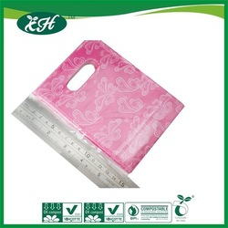 biodegradable custom made hdpe eco plastic shopping bags on roll