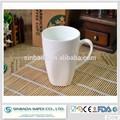 Barato cerâmica tipo de plain white canecas de porcelana