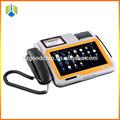 Pagamento pos wireless terminal suporte 3g/wifi/ethernet, wireless touch screen terminal pos--- gc039b