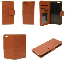Hot selling OEM 5.5 inch iphone6 mobile phone cover PU leather case