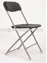 wholesale simple design coffice conference used plastic metal folding chair