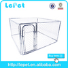 low price chain link rolling cat kennel airplane