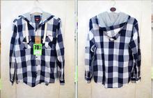 HIJ-14-MS-11-001 The boy cotton plaid shirt, dear skin comfort