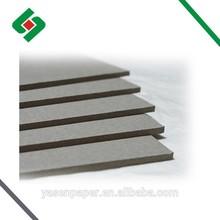 Laminated China 2mm Grey board/3mm cardboard/1mm chipboard/1.5mm 3.0mm paper board/1.0mm 2.0mm grey paperboard