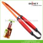 QTG0004 Plasitc Handle Barbecue Tongs