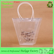 Trendy Personalized factory customied plastic cosmetics make up brush bag