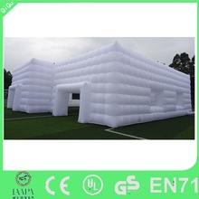 2015 New nice inflatable party tents,large inflatable cube tents