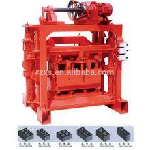 Top level antique low investment block brick machine