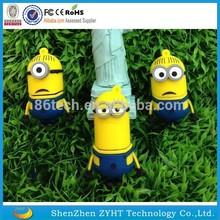 Minions Flash Drives, 1mb to 64gb Cartoon USB Flash Memory, Minions 64gb usb 2.0 flash drive