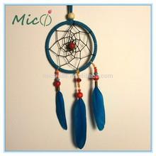 American Native Dreamcatcher Dream Catcher Wall Hanging Boho Blue Indian Dream Catcher