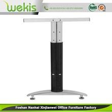 foshan factory l-shape steel table legs for office desk